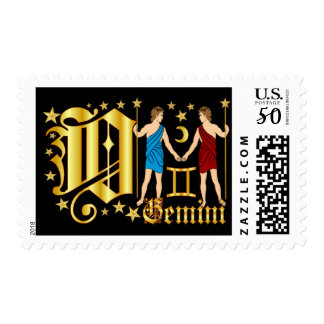 Zodiac-Gemini-Font-Design-2-O Postage
