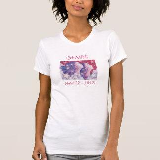 Zodiac Gemini t-shirt ladies text