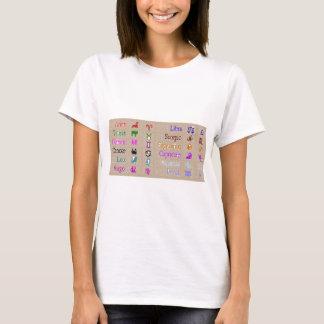 ZODIAC GOLD - Taraus backprint T-Shirt