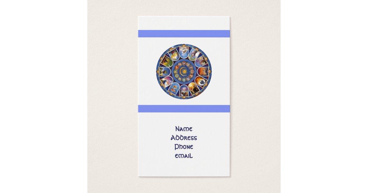 Zodiac Horoscope Astrology Business Card | Zazzle.com