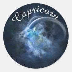 Zodiac Horoscope Astrology Sign Capricorn Sticker at Zazzle