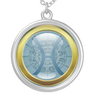 Zodiac Jewelry Necklace Amulet - Pisces