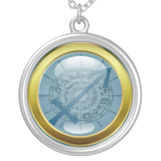 Zodiac Jewelry Necklace Amulet - Sagittarius