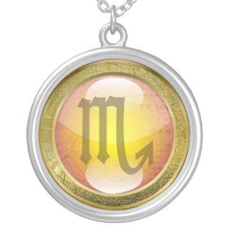 Zodiac Jewelry Necklace Amulet - Scorpio