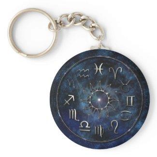 Zodiac keychain