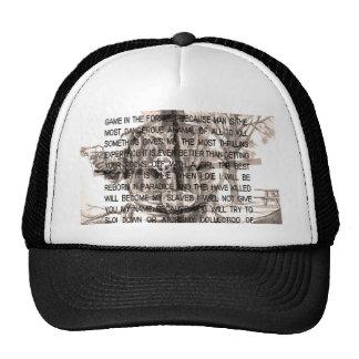 Zodiac killer trucker hat