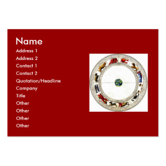 Zodiac Large Business Card