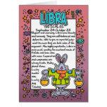 Zodiac - Libra Fun Facts Card