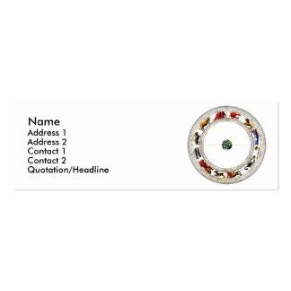 Zodiac Mini Business Card