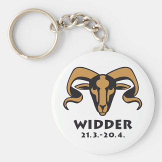 Zodiac more widder keychain