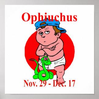 Zodiac Ophiuchus Print