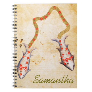 Zodiac: Pisces, C1350 Notebook