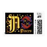Zodiac-Pisces-Font-Design-1-A Sello