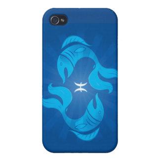 Zodiac Pisces iPhone 4 Case