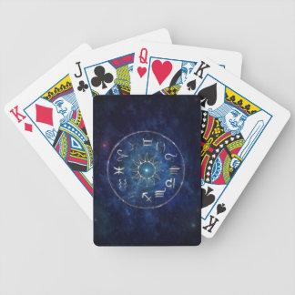 Zodiac Bicycle Poker Cards