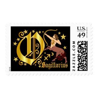 Zodiac-Sagittarius-Font-Design-1-O Estampillas