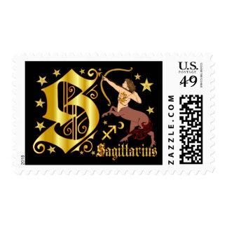 Zodiac-Sagittarius-Font-Design-1-S Stamps