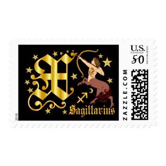 Zodiac-Sagittarius-Font-Design-2-X Postage