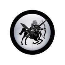 Zodiac Sagittarius Wall Clock