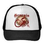 Zodiac Scorpio-Design-1 Mesh Hats