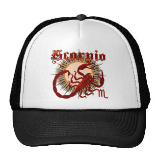 Zodiac Scorpio-Design-1 Trucker Hat