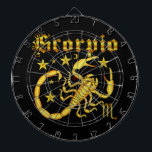 "Zodiac Scorpio-Design-1 View Below Hints Dart Board<br><div class=""desc"">HINT Important: To Change background colors (That are not apparel) you must customize. Go to edit on the drop down click &quot;background&quot; then pick your color. HINT Important: Please note if you chance an image, font or style or use &quot;Form Factor&quot; view you product in the customize edit window (before)...</div>"