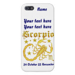 Zodiac Scorpio-Design-1 View Below Hints Cases For iPhone 5