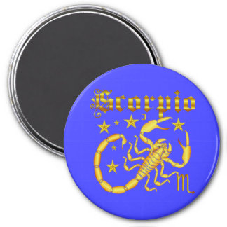 Zodiac Scorpio-Design-2 View Below Hints Magnet