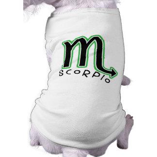 Zodiac Scorpio Pet T-Shirt