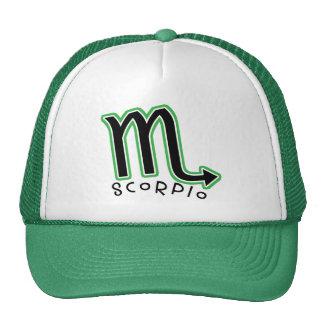 Zodiac Scorpio Trucker Hat