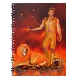 Zodiac Series: Leo Notebook