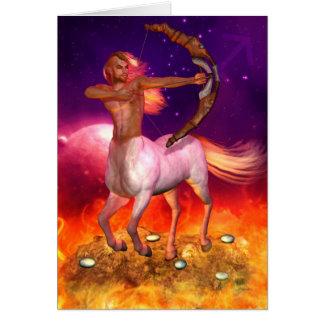 Zodiac Series: Sagittarius Greeting/Note Card