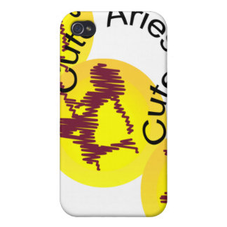 Zodiac Sign Aries to Capricorn Icons Two. Case For iPhone 4
