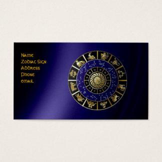 Zodiac Sign Business Card