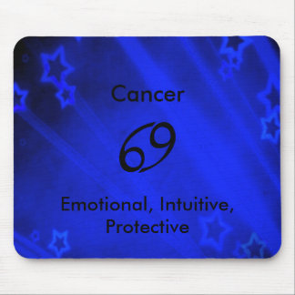 Zodiac Sign: Cancer Mouse Pad