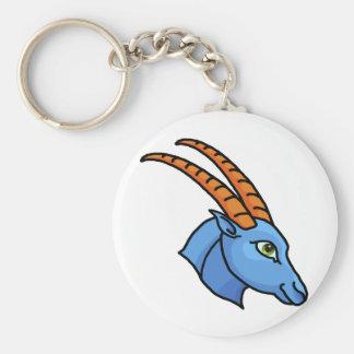 Zodiac sign Capricorn Keychain