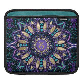 Zodiac Sign Capricorn Mandala Sleeve For iPads
