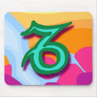 Zodiac sign Capricorn Mouse Pad