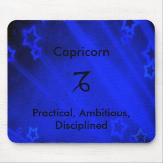 Zodiac Sign: Capricorn Mouse Pad