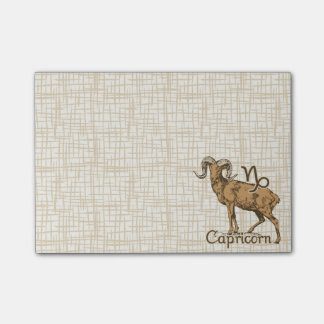 Zodiac Sign Capricorn Symbol Post-it Notes