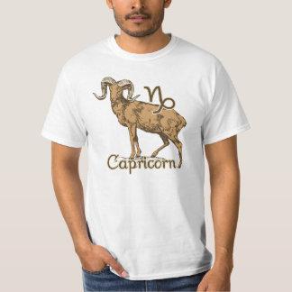 Zodiac Sign Capricorn Symbol Shirt