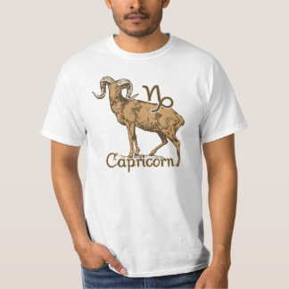 Zodiac Sign Capricorn Symbol T-Shirt