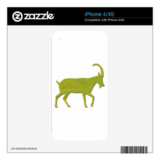 zodiac sign - Goat Year Decal For The iPhone 4