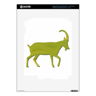 zodiac sign - Goat Year Decal For iPad 3