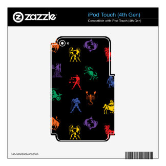 Zodiac Sign Icon iPod Touch 4G Decals