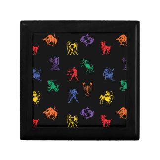 Zodiac Sign Icon Jewelry Box