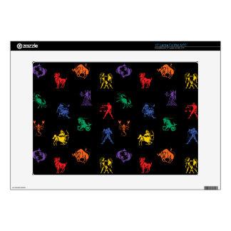 Zodiac Sign Icon Skins For Laptops