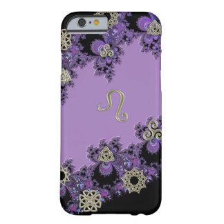 Zodiac Sign Leo Celtic Lavender iPhone 6 Case