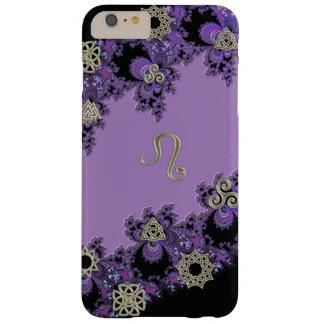 Zodiac Sign Leo Celtic Lavender iPhone 6 Plus Case