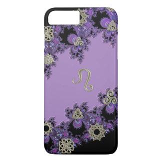 Zodiac Sign Leo Celtic Lavender iPhone 7 Plus Case